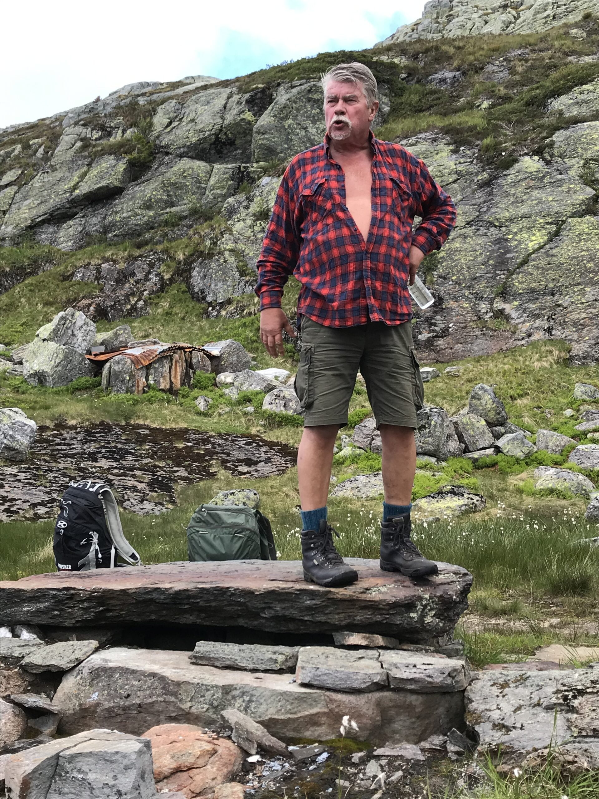Terje Kollbotn var ein engasjert turleiar og guide