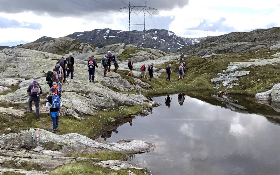 Ei krafthistorisk vandring i Ålvikfjellet